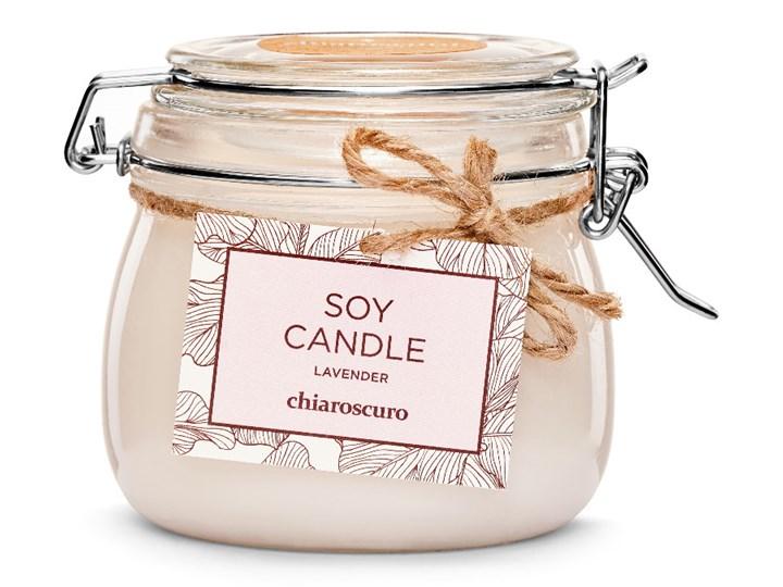 Świeca sojowa Chiaroscuro Lavender 500 ml. 100 h. Świeca zapachowa Kategoria Świeczniki i świece