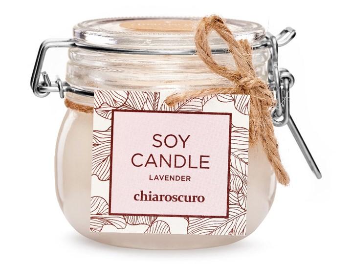 Świeca sojowa Chiaroscuro Lavender 130 ml. 40 h. Świeca zapachowa Kategoria Świeczniki i świece