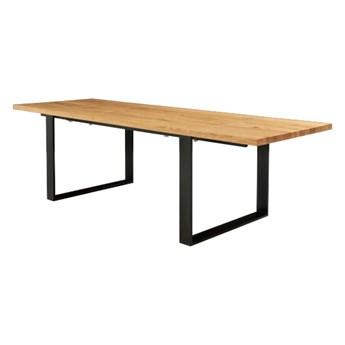 Stół Mova z dostawkami Dąb 160x80 cm Jedna dostawka 60 cm