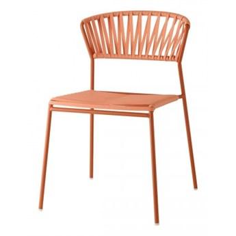 Krzesło Lisa Club Scab Design - pomarańczowe