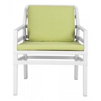 Nardi Krzesło Aria biało-limonkowe
