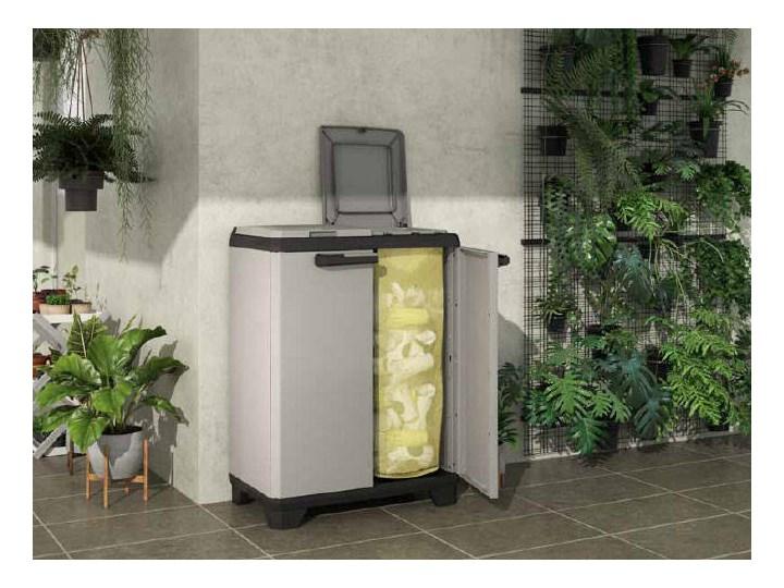 Komoda plastikowa z pojemnikiem na odpady KIS Planet Recycling Kategoria Szafy i regały warsztatowe