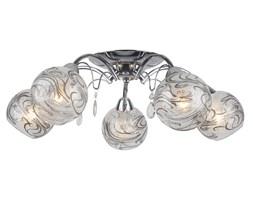 Atrakcyjny żyrandol Aksa 5 w stylu glamour kryształki