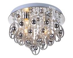 Wyjątkowy plafon Hissar 4 glamour bogato zdobiony srebrna oprawa