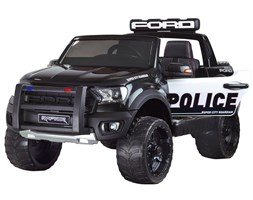 Auto na akumulator Ford POLICJA + megafon PA0225