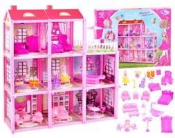 Duży dom + lalka i meble Willa dla lalek ZA3075