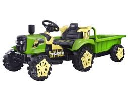 Traktor z przyczepą na akumulator świeci PA0234
