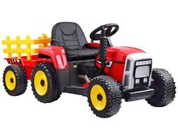 Traktor z przyczepą na akumulator + pilot  PA0242
