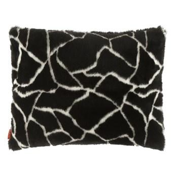 Poduszka dekoracyjna z futra ŻYRAFA