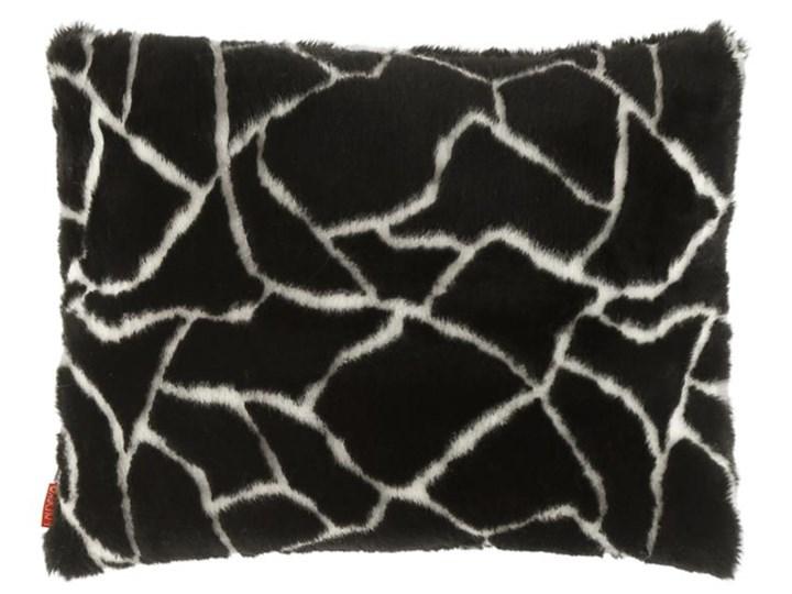 Poduszka dekoracyjna z futra ŻYRAFA Pomieszczenie Salon Prostokątne Futro ekologiczne 40x50 cm Poszewka dekoracyjna Wzór Zwierzęcy
