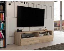 Stolik RTV, szafka pod telewizor 140 cm dąb sonoma