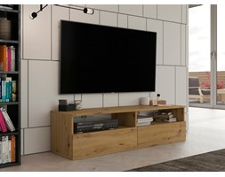 Prosta szafka pod TV, stolik na sprzęt RTV 140 cm artisan