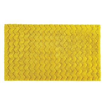 Dywanik łazienkowy Sorema Chevron Mustard