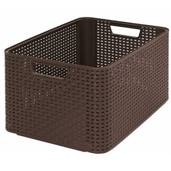 Koszyk CURVER Style Box L V2 - DBR210 Ciemnobrązowy