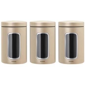 Zestaw pojemników na żywność BRABANTIA 304842 3 szt.