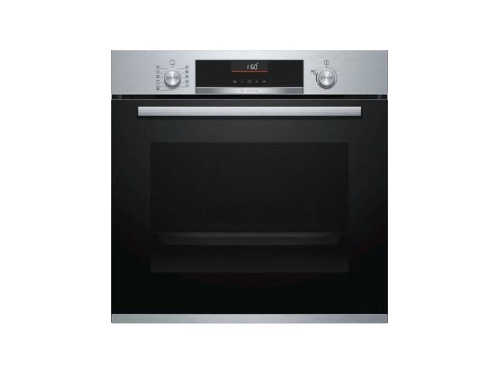 Piekarnik BOSCH HBA5560S0 Elektryczny Czarno-stalowy A Kategoria Piekarniki