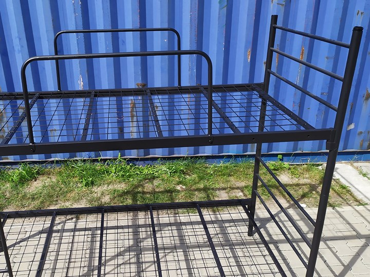 ŁÓŻKO METALOWE PIĘTROWE ROZKŁADANE 80x200 - BOSTON Łóżko piętrowe Rozmiar materaca 80x200 cm