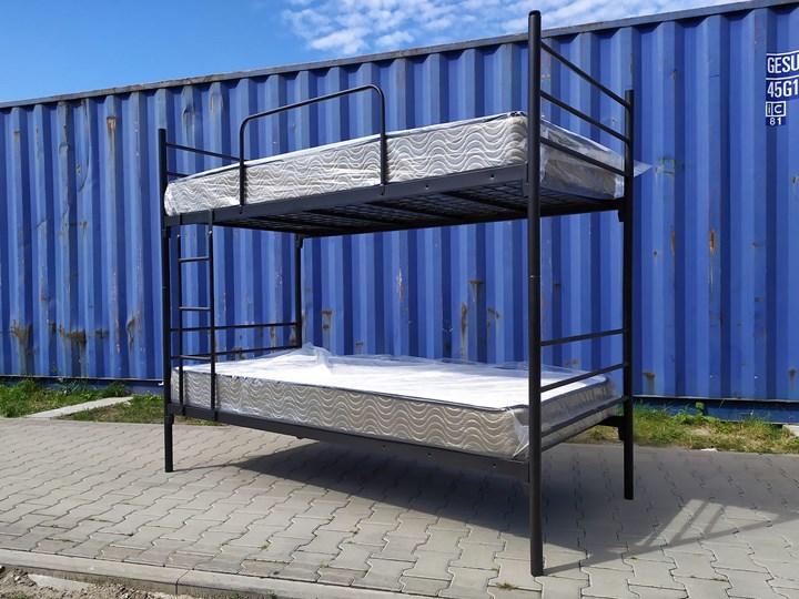 ŁÓŻKO METALOWE PIĘTROWE ROZKŁADANE 80x200 - BOSTON Łóżko piętrowe Rozmiar materaca 80x200 cm Liczba miejsc Dwuosobowe