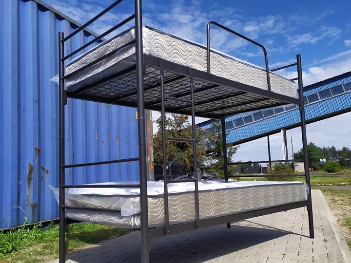 ŁÓŻKO METALOWE PIĘTROWE ROZKŁADANE 80x200 - BOSTON Łóżko piętrowe Kategoria Łóżka dla dzieci